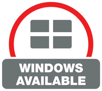 Windows available